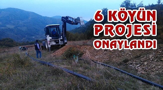 6 köyün içme suyu projesi onaylandı