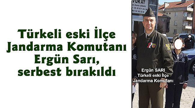 Türkeli eski İlçe Jandarma Komutanı serbest!
