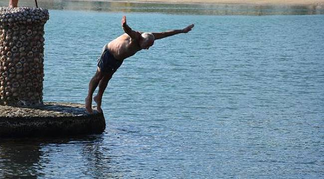 Sinop'ta deniz keyfi