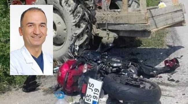 Operatör Doktor Durağan'daki kazada hayatını kaybetti