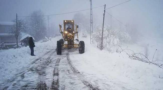 45 köy yolu ulaşıma açıldı