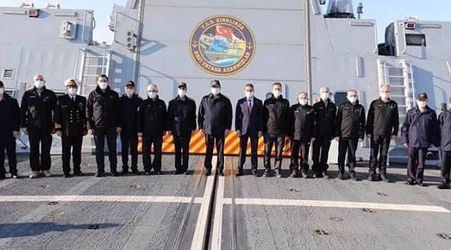 Gemisavar füzesi 'Atmaca' Sinop'ta test edildi