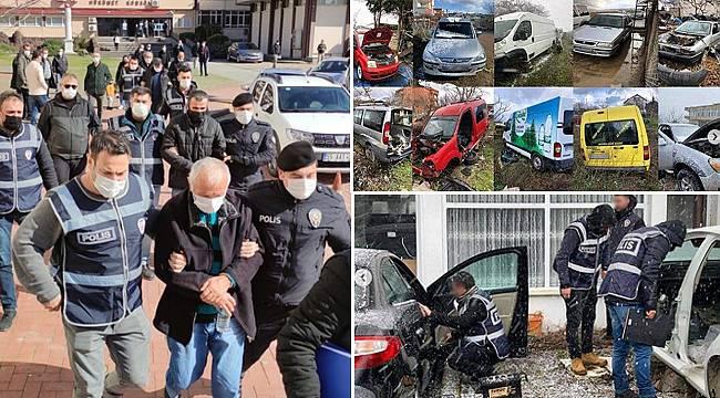 Sinop'ta oto hırsızlarına darbe!