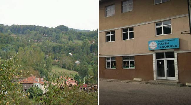Ayancık'ta bir köy ve okula 'korona' engeli