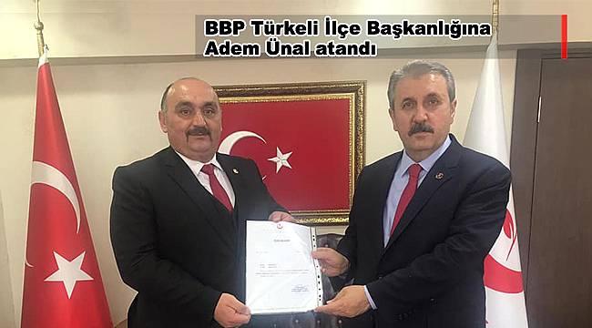 BBP Türkeli İlçe Başkanlığına Ünal atandı