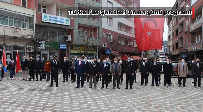 Türkeli'de Şehitleri Anma günü programı