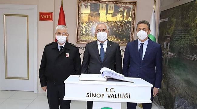 Bakan Yardımcısı Sinop'ta '15 Mayıs'ı işaret etti