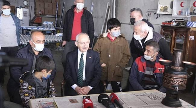 CHP Lideri Kılıçdaroğlu Sinop'ta