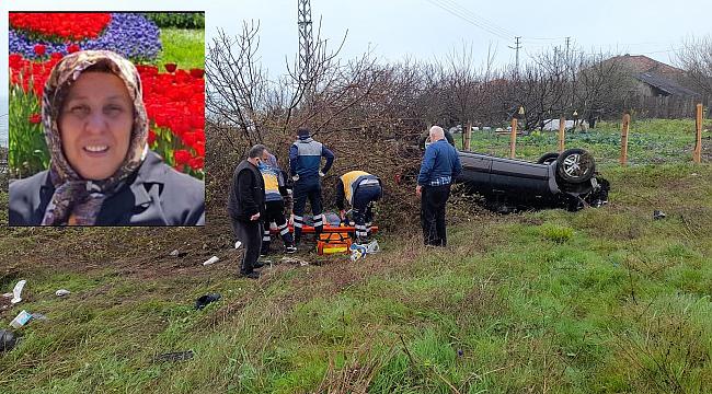 Kazada ağır yaralanan Özdemir, hayatını kaybetti