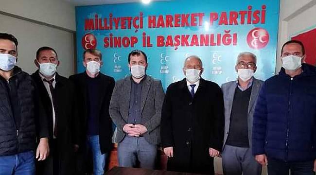 MHP ilçe başkanları Sinop'ta buluştu