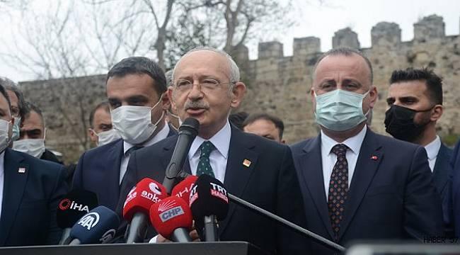Sinop'ta Kılıçdaroğlu'na muhtardan HDP sorusu