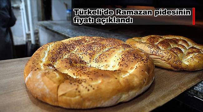 Türkeli'de Ramazan pidesinin fiyatı açıklandı