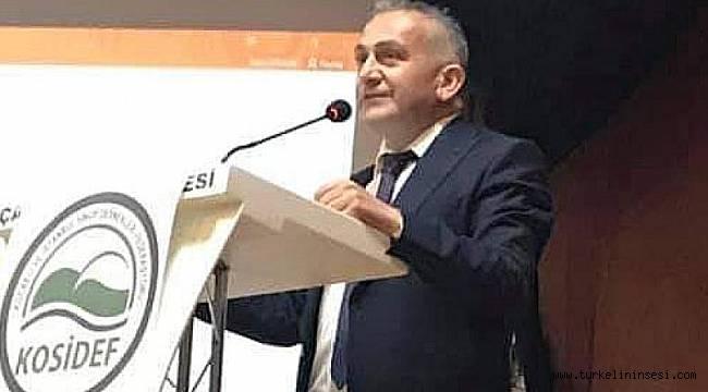 Türkelili Demirkıran, yeniden KOSİDEF'in Genel Başkanı oldu