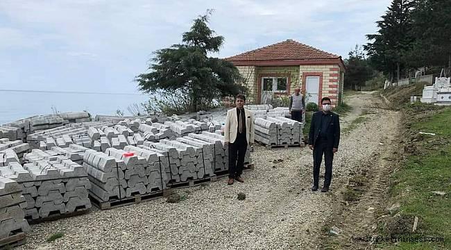 Belediye Mezarlığında çevre düzenleme çalışmaları
