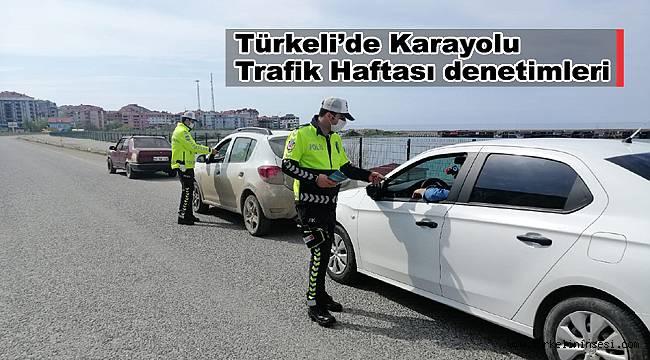 Türkeli'de Karayolu Trafik Haftası denetimleri