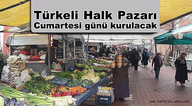 Türkeli Halk Pazarı Cumartesi günü kurulacak