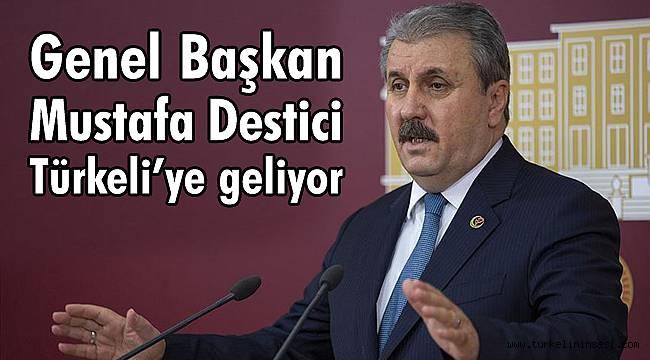 BBP Genel Başkanı Destici Türkeli'ye geliyor