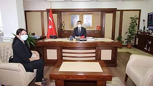 Sinop'un tek kadın muhtarı