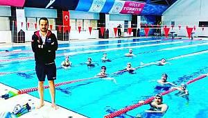 Sinoplu yüzücüler kıtalararası yarışlara hazırlanıyor