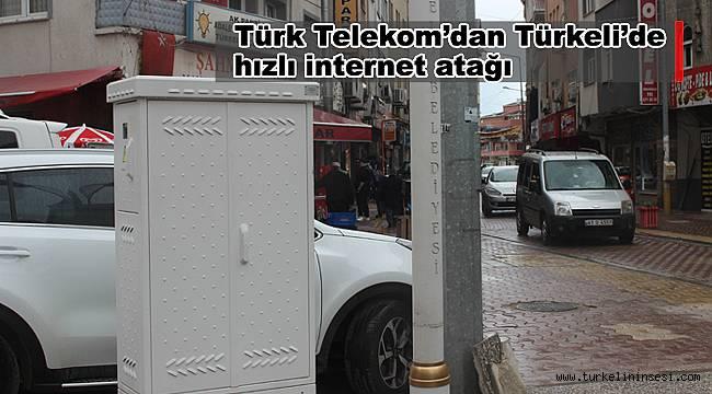 Türk Telekom'dan Türkeli'de hızlı internet atağı