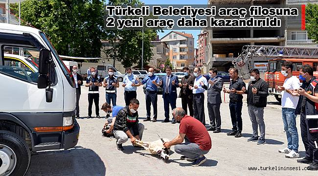 Türkeli Belediyesi araç filosuna yeni araçlar
