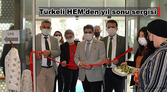 Türkeli HEM'den yıl sonu sergisi