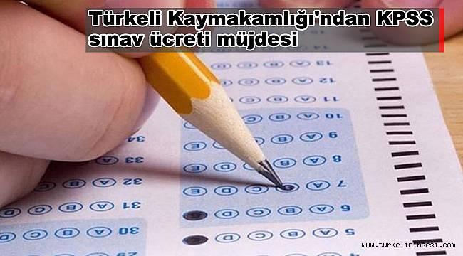Türkeli Kaymakamlığı'ndan KPSS sınav ücreti müjdesi