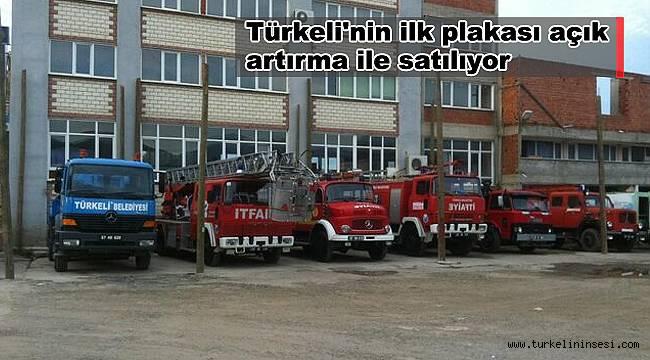 Türkeli'nin ilk plakası açık artırma ile satılıyor