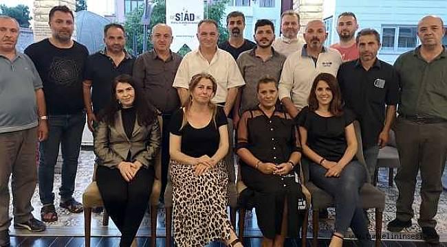 SİAD Sinop Şubede görev dağılımı