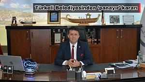 Türkeli Belediyesinden 'panayır' kararı
