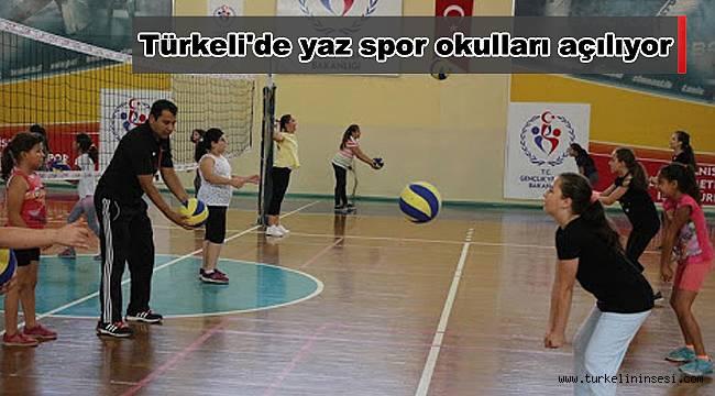 Türkeli'de yaz spor okulları açılıyor