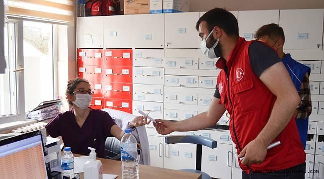 Türkeli'deki sağlık çalışanlarına mektup