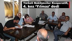 Türkeli Nakliyeciler Kooperatifi, 4. kez 'Yılmaz' dedi