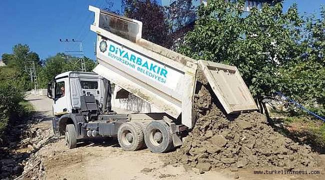Diyarbakır Büyükşehir Belediyesi, Türkeli'deki görevini tamamladı