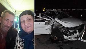 Düğün yolunda feci kaza: Ayancıklı damadın anne ve babası hayatını kaybetti