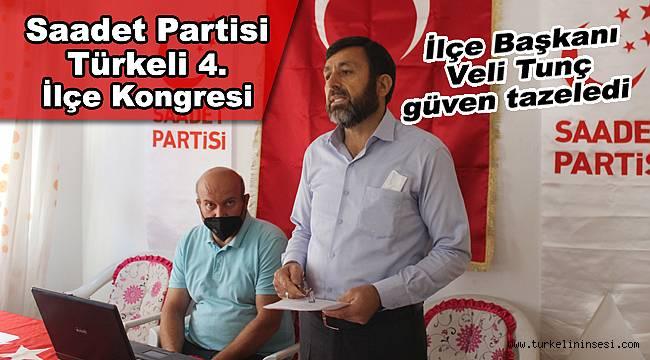 Saadet Partisi Türkeli'de 4. Olağan Kongresini yaptı