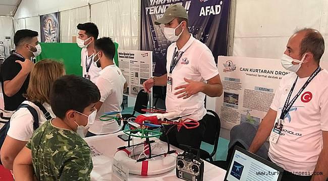 Sinoplu gençler, tasarladıkları 'Cankurtaran Drone' ile Teknofest'te yarışıyor