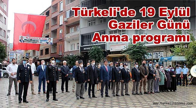 Türkeli'de 19 Eylül Gaziler Günü Anma programı