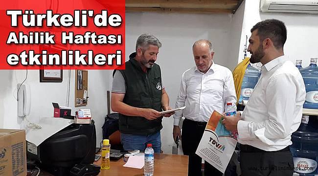 Türkeli'de Ahilik Haftası etkinlikleri