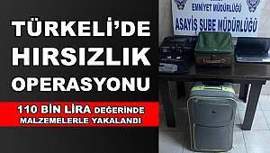 Türkeli'de hırsızlık operasyonu! 110 bin lira değerinde malzemelerle yakalandı