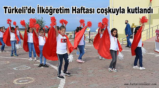 Türkeli'de İlköğretim Haftası coşkuyla kutlandı