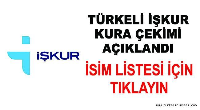 Türkeli'de İŞKUR kapsamında alınacak 100 işçi kura ile belirlendi