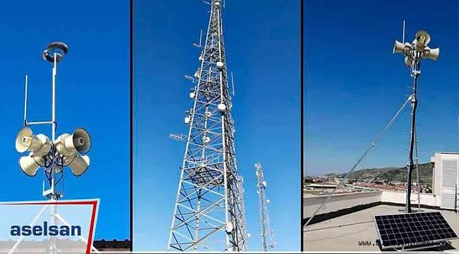Türkeli'de kurulan ikaz ve alarm sisteminin denemeleri yapılıyor