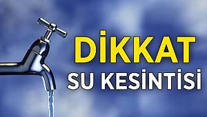Türkeli'de su kesintisi uyarısı