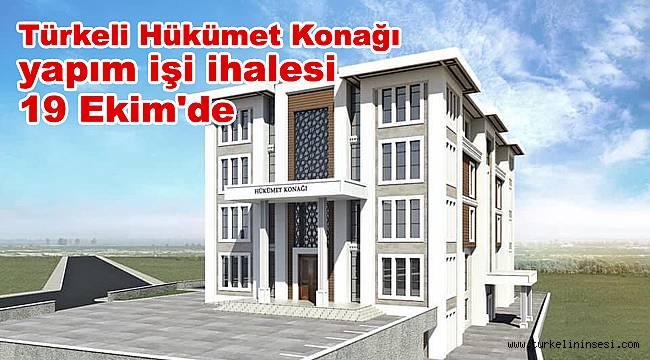 Türkeli Hükümet Konağı yapım işi ihalesi 19 Ekim'de