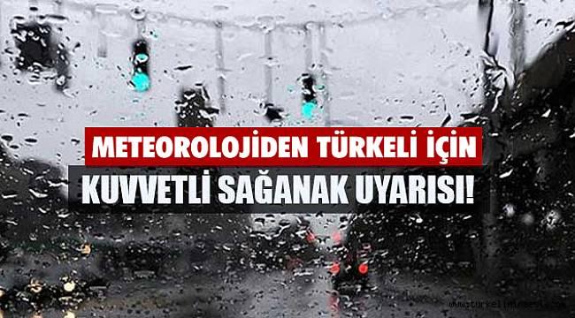 Türkeli'ye sağanak yağış uyarısı!