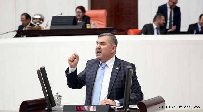 AK Parti Milletvekili Maviş, mecliste CHP'ye yüklendi