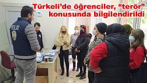 """Türkeli'de öğrenciler, """"terör"""" konusunda bilgilendirildi"""