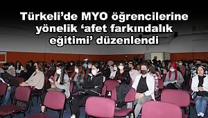 Türkeli'de öğrencilere yönelik 'afet farkındalık eğitimi' düzenlendi
