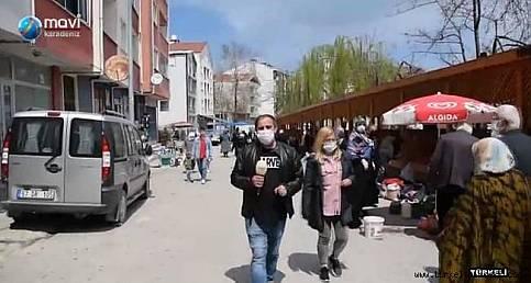 Türkeli, Mavi Karadeniz TV'de tanıtıldı